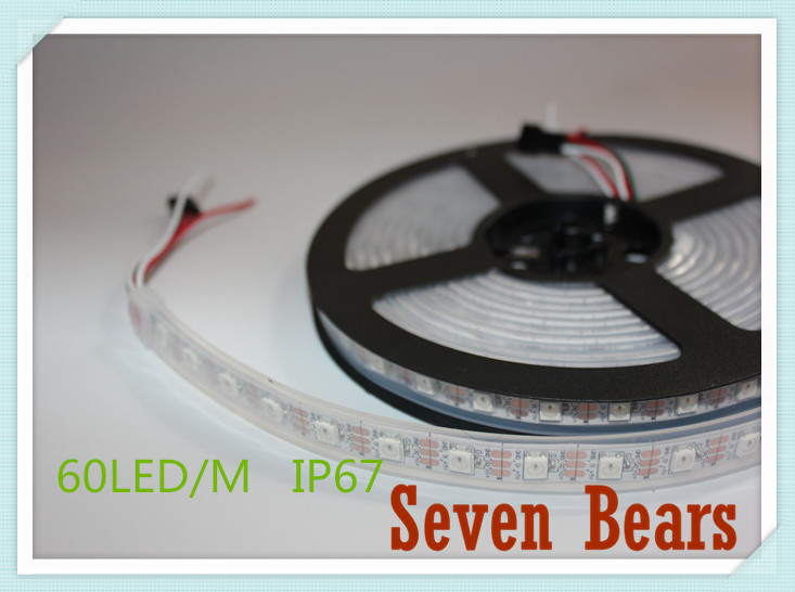 Tiras de Led pcb 30/60/144 leds/m ws2812ic 30/60/144 Wattage : 45/90w