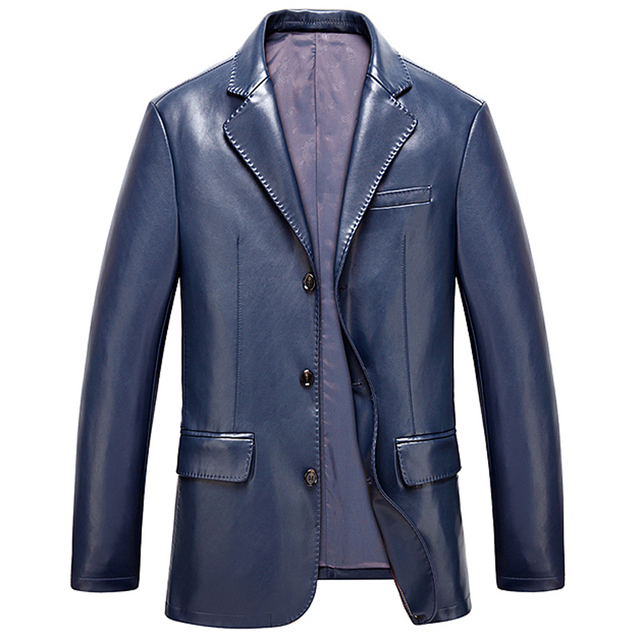 1be0163ca63 European Appear Big and Tall Mens Leather Jacket Coats Large Size 3XL  Promotion Mens Faux Leather Jacket Outfits Clothing C766