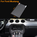 Car Styling 8 Inch GPS Navigation Screen Steel Protective Film For Ford Mustang Control of LCD Screen Car Sticker