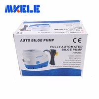 Hot sale 12/24V 600GPH Automatic Submersible Boat Marine Bilge Water Pump Equipment with Float Switch for RV Boat