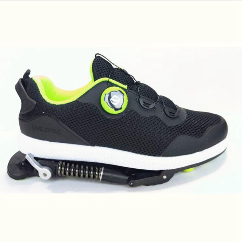 Runing-Shoes Mechanical with Steel-Spring Super-Shock-Absorber DIY High-Quality