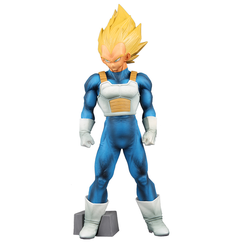 Anime DRAGON BALL Z Super Saiyan Vegeta PVC Action Figure Dragonball Master Stars Piece SMSP Collection Model Toys Doll Gifts 6 piece 10 14cm super mario action figure evade glue fair young car furnishing articles model holiday gifts ornament box packed