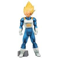 Anime DRAGON BALL Z Super Saiyan Vegeta PVC Action Figure Dragonball Master Stars Piece SMSP Collection