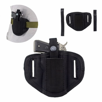 6 Position Ambidextrous Concealment Holster for Compact Subcompact Handguns Concealed Belt Holster for Right Left Hand Draw