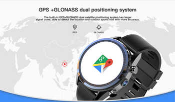 "Kospet Hope 4G Business Smart Watch Men Phone Android7.1.1 3GB+32GB 1.39\"" AMOLED WIFI/GPS/GLONASS 8.0MP MT6739 Smartwatch Women"