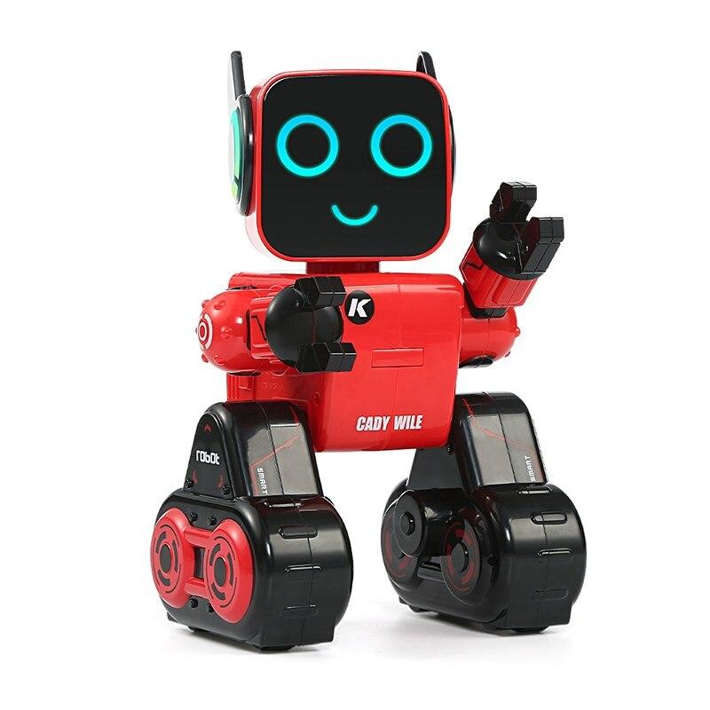 LEORY R4 оригинальный шелк-кади Wile RC робот Симпатичные удаленного Управление голос Управление Интеллектуальный робот с копилка для Для детей п...
