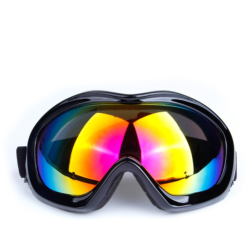 Sportswear & Accessories Spherical Double anti-fog Professional outdoor equipment Snow goggles Windproof mirror Skiing Eyewear