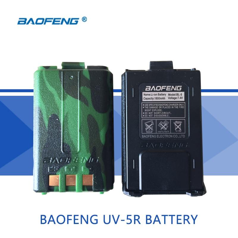 1 pcs UV-5R Batterie D'origine Tout Nouveau 1800 mah Batterie De Rechange Applicable à Bao feng UV 5R/5RE/ 5RA Talkie-walkie Accessoires