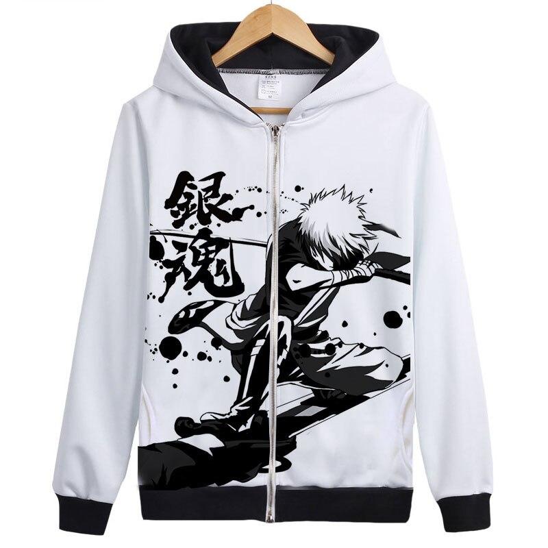 Anime Silver Soul Cosplay Disfraces Sudaderas con capucha Gintama - Ropa de hombre - foto 3
