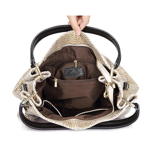 Realer woman handbags genuine leather bag female hobos shoulder crossbody bags high quality leather totes women messenger bag 5