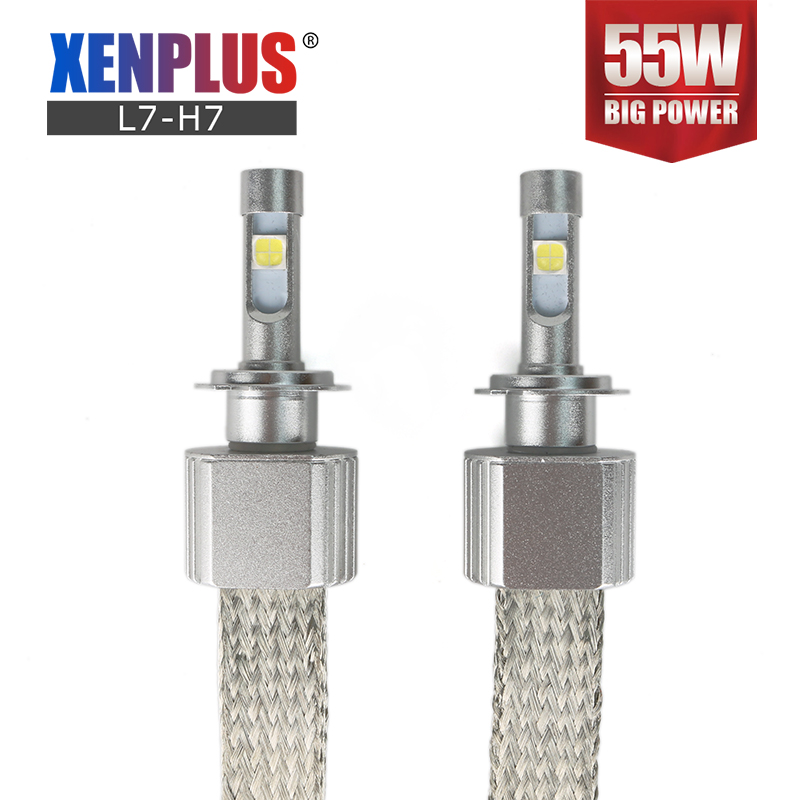 <font><b>LED</b></font> <font><b>H7</b></font> H4 H11 HB3 HB4 D2S H13 9005 9006 Headlight Bulbs <font><b>XHP70</b></font> <font><b>Cree</b></font> chip 13200LM 110W 12V Super bright Car headlamp <font><b>leds</b></font> for auto image