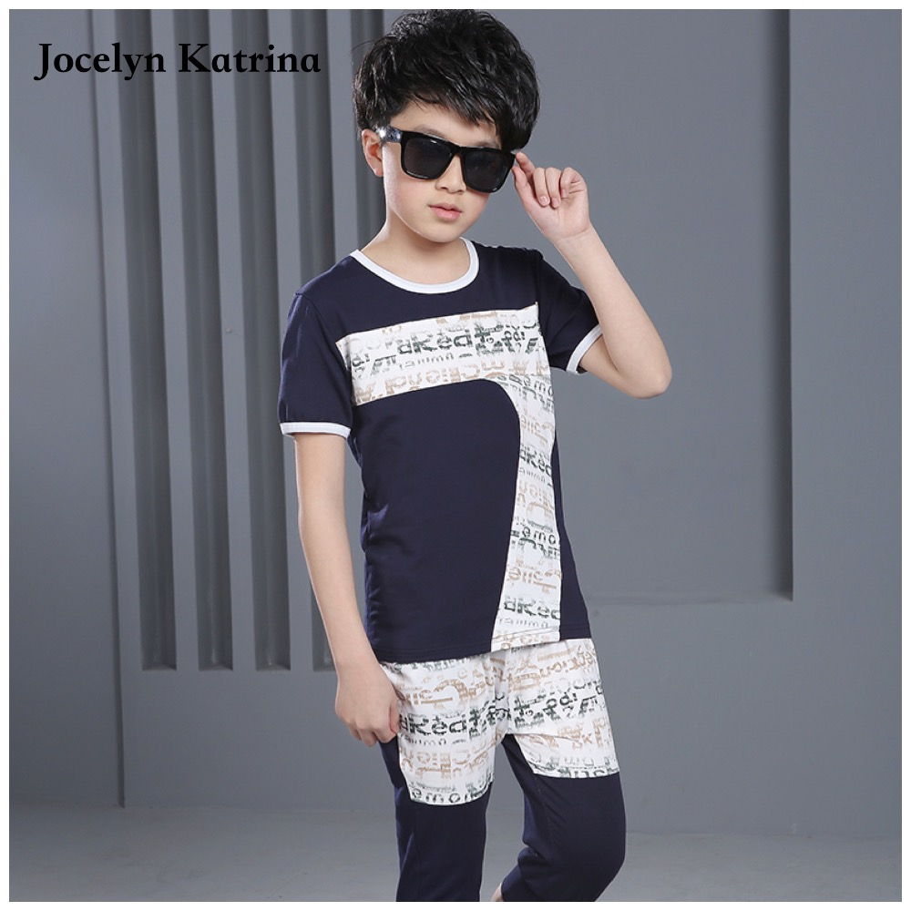 2017 Summer Baby Boys Clothing Kids Boy Clothes Tracksuit Short Sleeve T-shirt+Shorts 2pcs Outfit Suit Children Clothes Sets family fashion summer tops 2015 clothers short sleeve t shirt stripe navy style shirt clothes for mother dad and children