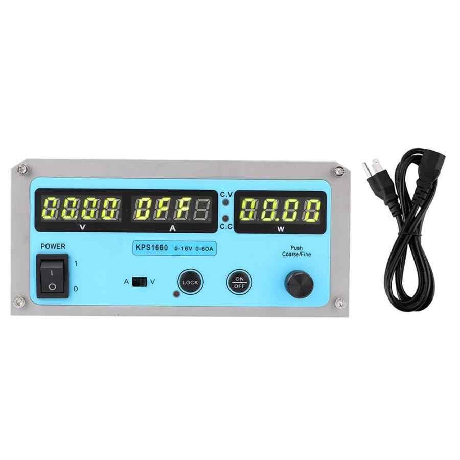 Zasilacz laboratoryjny regulowany Dc regulowany zasilacz stabilizowany przełącznik programów czterocyfrowy wyświetlacz 110-220 V regulowany przełączania