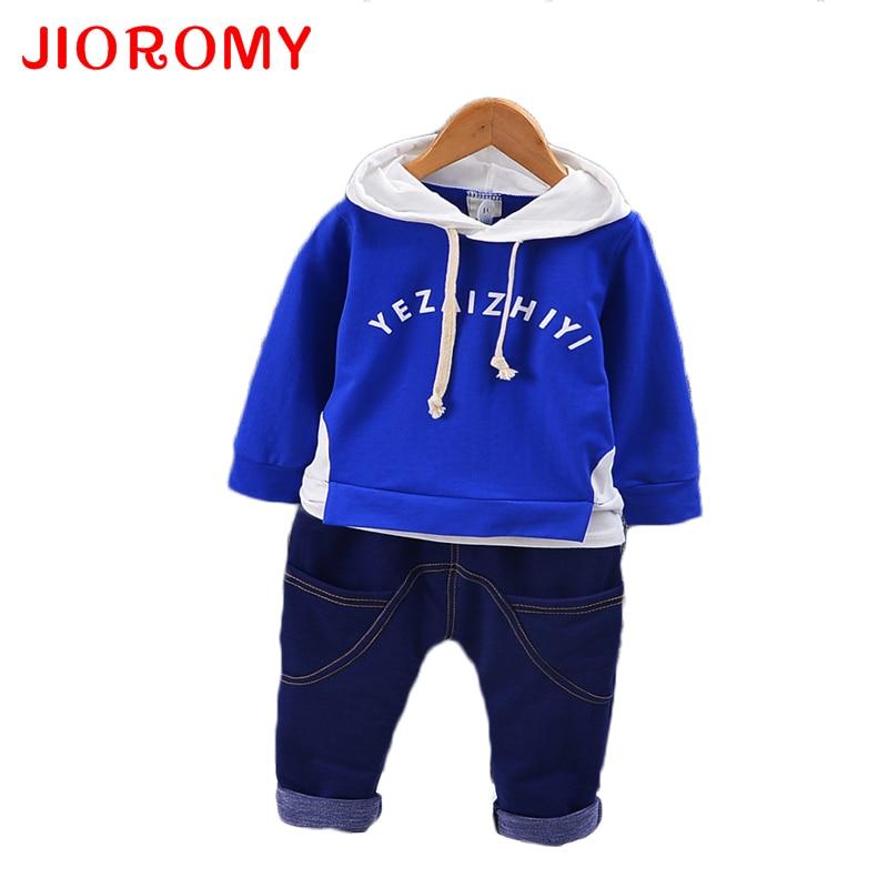 JIOROMY Otoño 2019 Conjunto de ropa para niños Doble cara de - Ropa de ninos