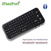 Ip azz p ortมินิไร้สายบลูทูธแป้นพิมพ์มาตรฐานแป้นพิมพ์แบบqwerty 125.8X56.5X13