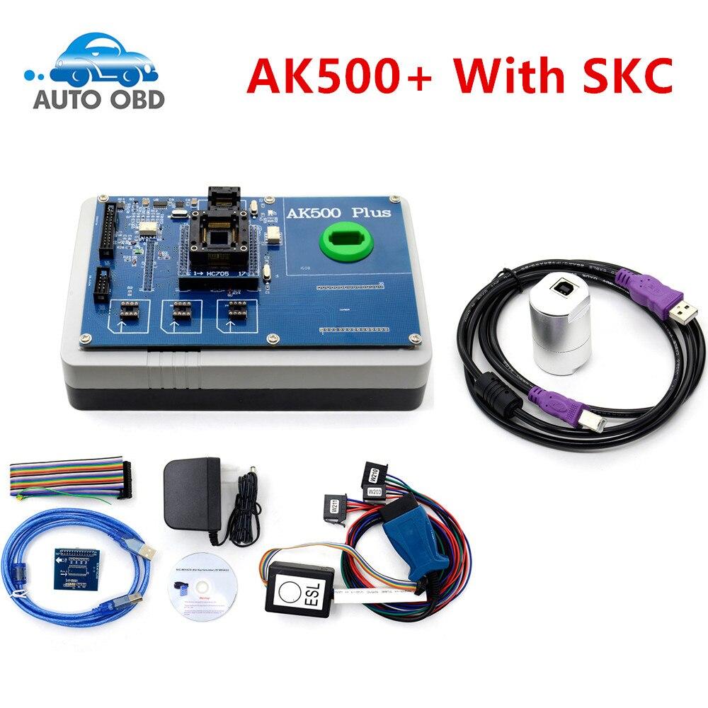 Prix pour 2017 Date AK500 + AK500 Programmeur principal pour Mercedes Benz Avec L'EIS SKC Calculatrice AK500 Pro pour Mercedes AK500 Clé programmeur