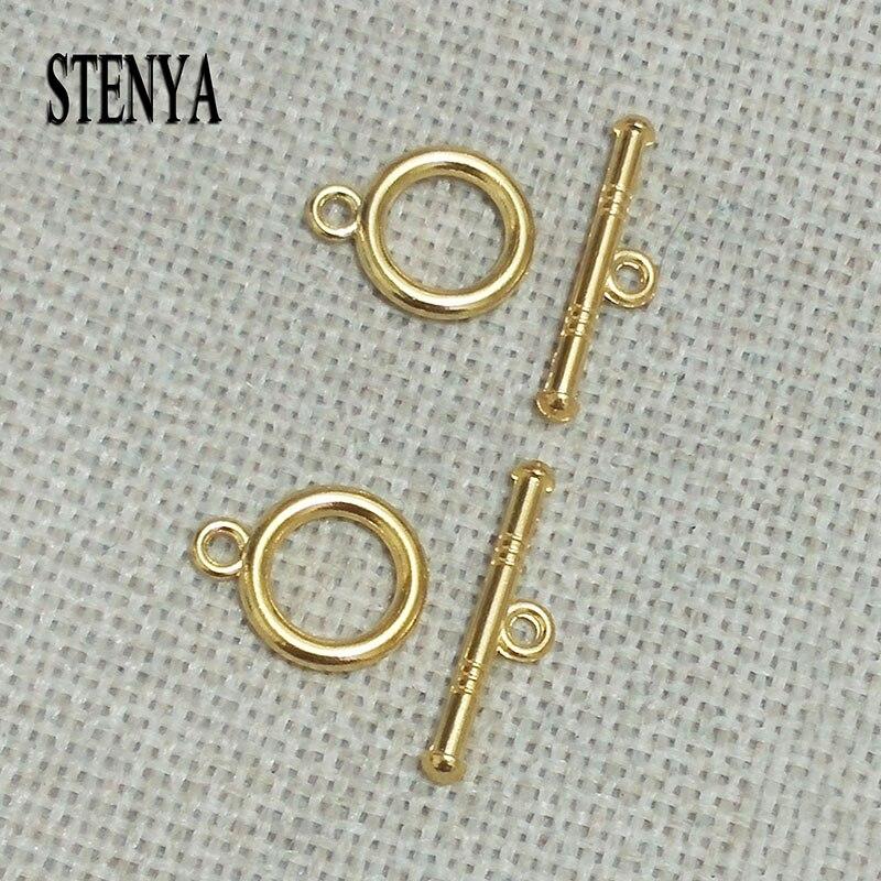 80  Connectors Necklace Bracelet Toggle Clasps Tibetan Silver Findings