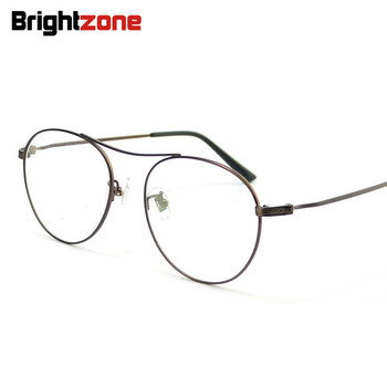 c895b878c4 Brightzone Aviattor piloto borde completo 100% titanio puro luz estupenda  miopía hipermetropía astigmatismo comodidad gafas graduadas