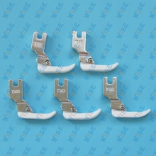 Juki Brother Singer narrow zipper TEFLON FOOT #T363 (5 PCS)
