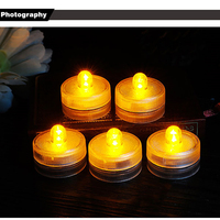 Luce colorata Impermeabile Candele Romantiche Bougies D Coratives Cera Galleggianti Senza Fiamma Led Decorative Candele Home Decor QQZ254