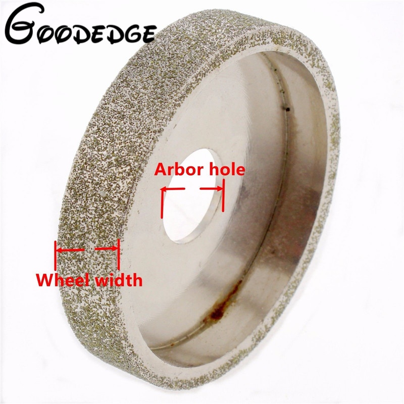 3 inch lapidary Electroplated diamond grinding wheel for Angle Grinder grit 80 cnbtr silver snagging cutting electroplate diamond bowl shape grinding wheel grit 80