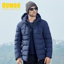 Oumor ผู้ชายฤดูหนาวฤดูใบไม้ร่วงยุทธวิธีเสื้อผ้าทหารหนา Jacket Parkas Coat ผู้ชาย Hoodie Windbreaker กันน้ำ Parkas Trench Men