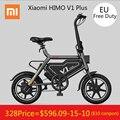 [Kostenloser Duty] Original Xiaomi HIMO V1 Plus Tragbare Faltbare Elektrische Moped Fahrrad Elektrische Fahrrad 100 kg Last Max geschwindigkeit 25 km/h