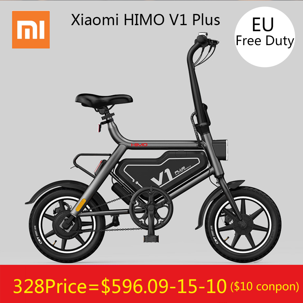 [Libre Duty] Original Xiaomi HIMO V1 Plus Portable pliable électrique cyclomoteur vélo électrique 100 kg charge Max vitesse 25 km/h