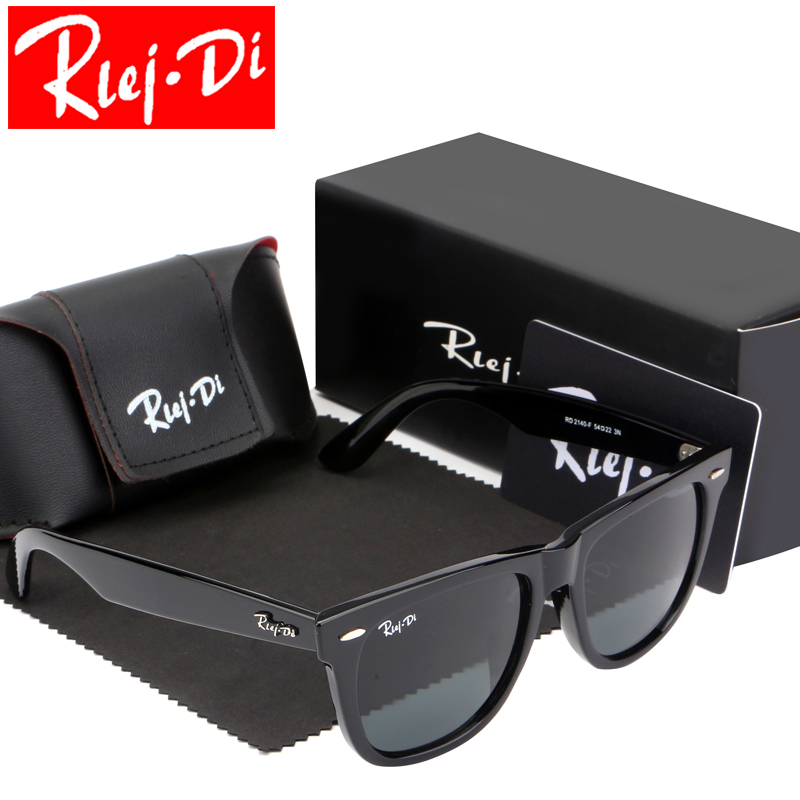 Classic Sunglasses Women Brand Design Coating Driving Sunglasses For Men 54MM Glass Lens Eyewear Accessories UV400 Oculos Female