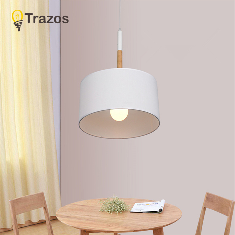 TRAZOS Nordic Dining Light abajur luminaire Hanging Lamp With Triple Lampshades Indoor Lighting Fixture For Kitchen Living RoomTRAZOS Nordic Dining Light abajur luminaire Hanging Lamp With Triple Lampshades Indoor Lighting Fixture For Kitchen Living Room