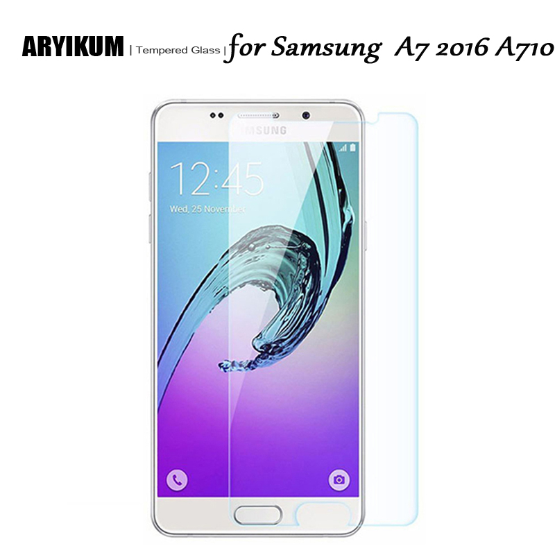 A7 2016 Premium Tempered Glass for Samsung Galaxy A7 2016 Screen Protector Toughened Protective Film for Samsung A7 6 A710 A710f