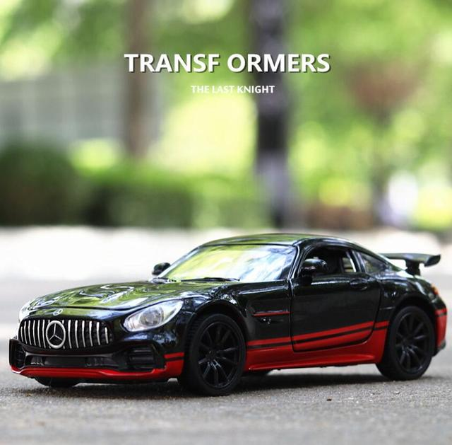 1:32 Toy Car BENZ AMG GTR Metal Toy Alloy Car Diecasts & Toy Vehicles Car Model Miniature Scale Model Car Toy For Children