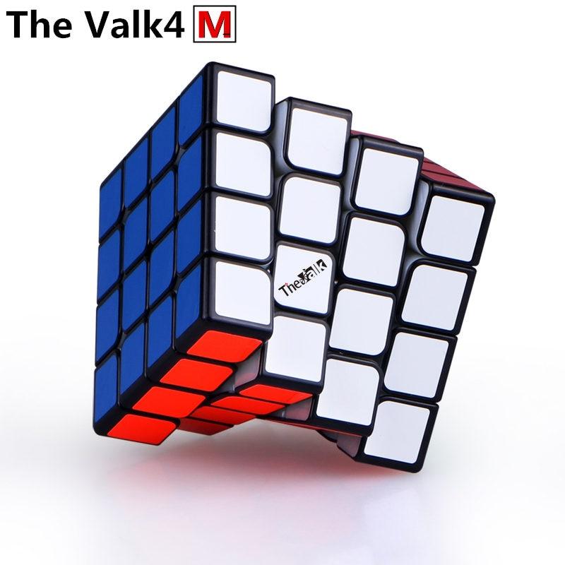 Nouveau QiYi valk 4 M 4x4x4 magnétique magique vitesse Cube professionnel Valk 4 M aimants Puzzle Cubes Valk4 M