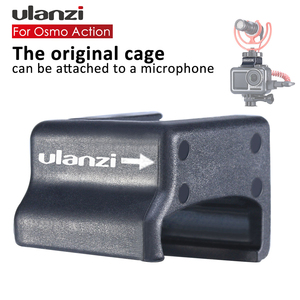 Image 2 - Support de chaussure froide pour Microphone Ulanzi pour pince de Microphone haute Action Osmo