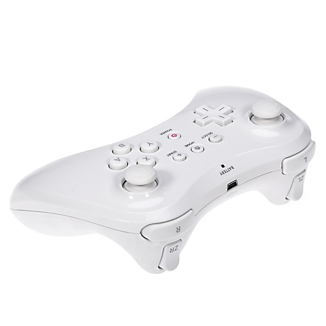 kebidu New Classic Dual Bluetooth Gamepad Wireless Remote Controller USB U Pro Game Gaming Gamepad for Nintendo for Wii U