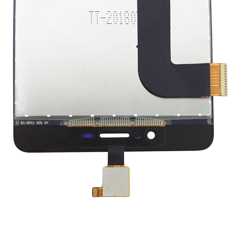 Dla Wiko Pulp Fab 4G wyświetlacz LCD i ekran dotykowy Digitizer 5.5 cal akcesoria do telefonów komórkowych dla Pulp Fab 4G z narzędzia