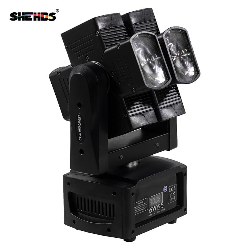 SHEHDS Stage Light DMX LED 8x10W RGBW 4in1 շարժվող - Կոմերցիոն լուսավորություն - Լուսանկար 3