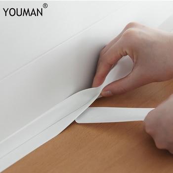 цена на Wallpapers diy self adhesive wallpaper wall paper kitchen floor vinyl wall wallpaper borders wall sticker pvc 3d vinyl