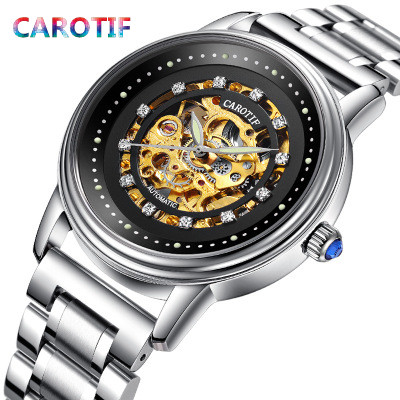 2018 Men Watches Reloj Hombre Automatic Mechanical Watch Male Tourbillon Reloj Waterproof Skeleton Watch Men erkek kol saati carotif automatic mechanical men watches montre full steel male watch reloj hombre waterproof skeleton watch men erkek kol saati page 8