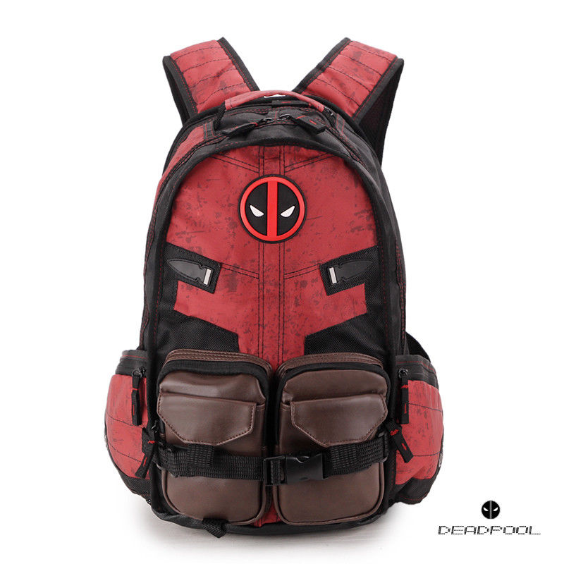 Deadpool sac à bandoulière sac à dos voyage ordinateur portable livre scolaire sac à bandoulière sacs à dos sac étudiant anime nouveau