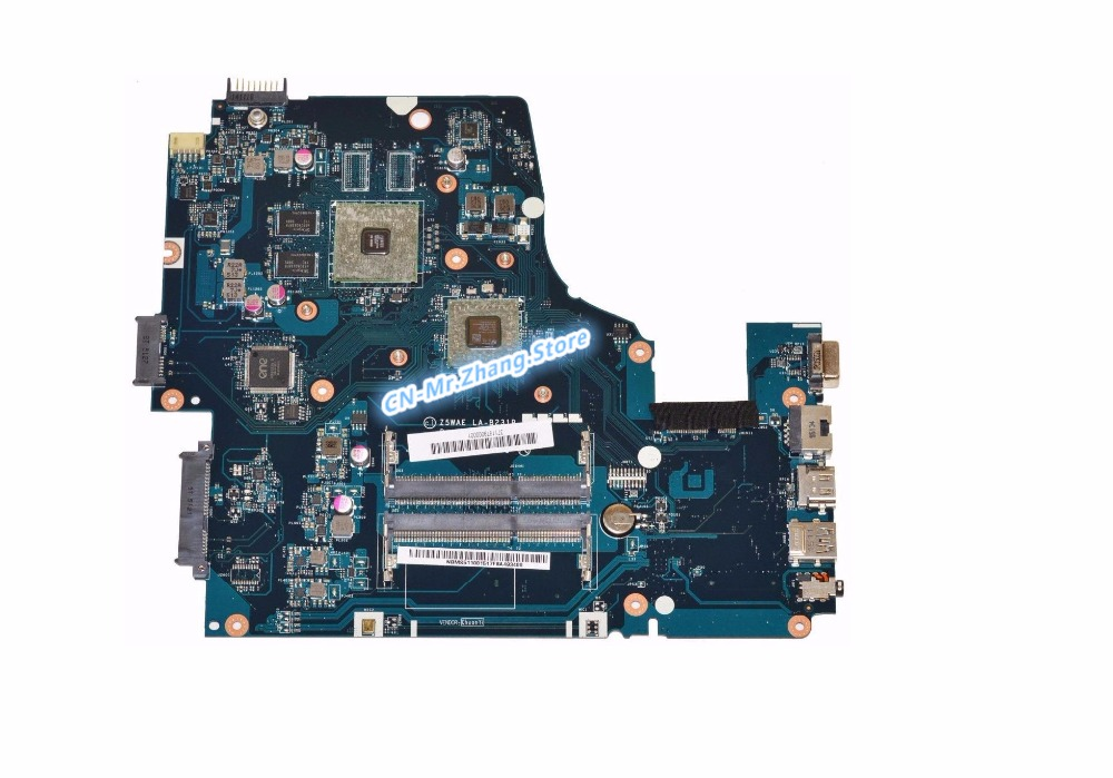 SHELI FOR Acer Aspire E5 521 E5 521G Laptop Motherboard W FOR A6 6310 CPU NBMS511001