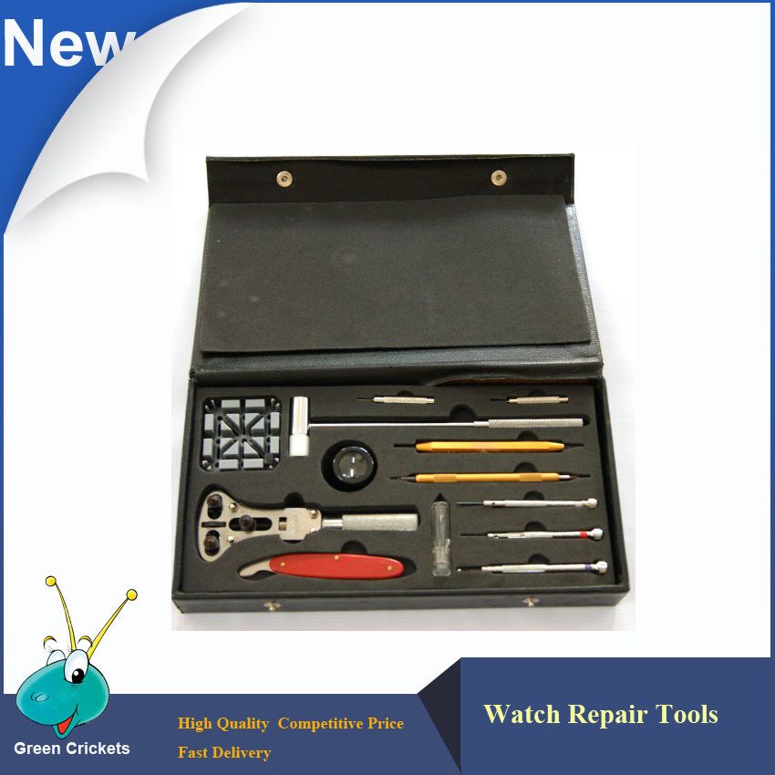Latest Watch Repair Tools Kits Watch Opener Band Pin Remover Watchmaker Repairs Tools Set in Black