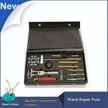 Последние Часы Ремонтные Инструменты и Наборы, Часы, Группа Pin Remover Часовщик Ремонт Набор Инструментов в Черный коробка