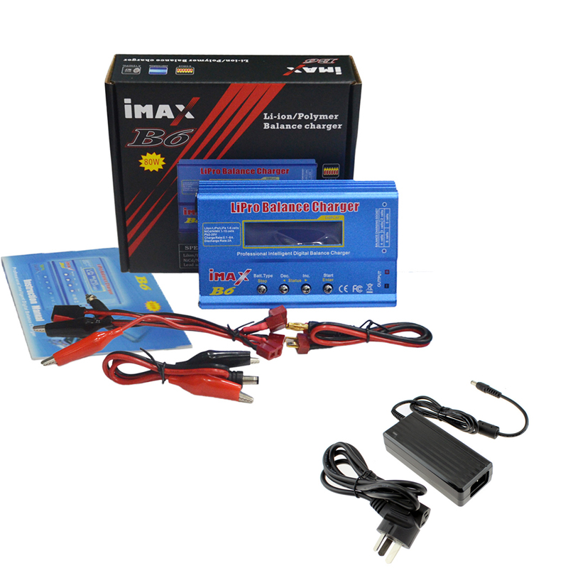 IMAX B6 Digital RC Lipo Balance Charger Digital Discharger + 12V 5A Power Supply US Plug + Tamiya Line for RC Model FPV браслет power balance бкм 9668