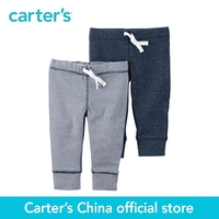 Carter's 2pcs baby children kids 2-Pack Babysoft Pants 126G553,sold by Carter's China official store