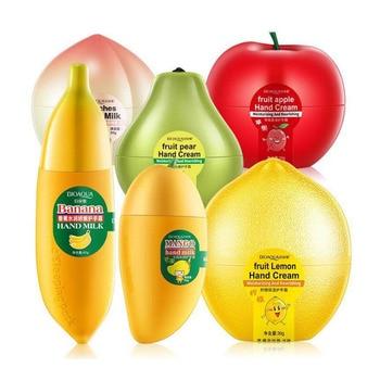 BIOAQUA Fruit Apple Pear Lemon Banana Mango Moisturizing Hydrating Hand Cream for Winter Hand Care Nourishing Skin Care