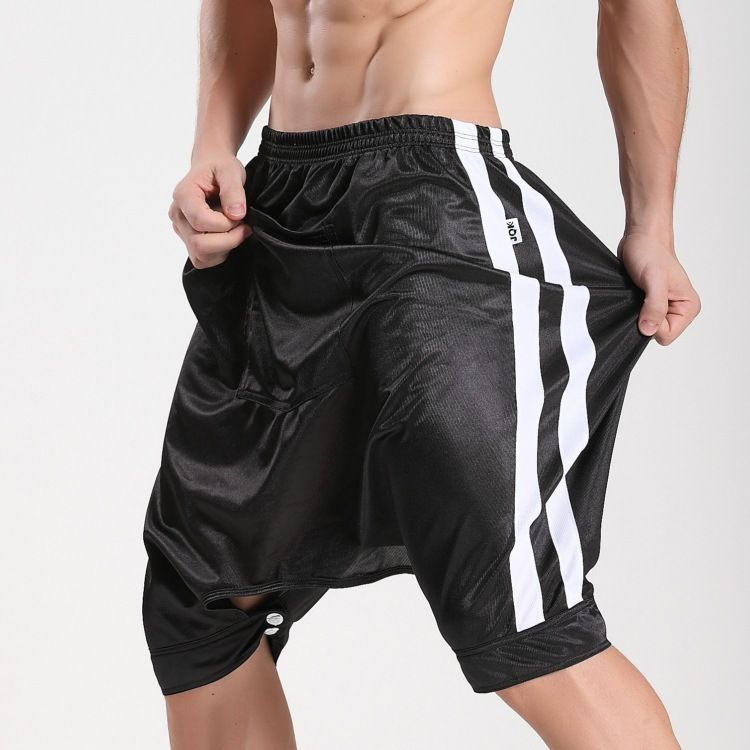 Men's Sleep & Lounge Frugal Summer Aro Male Strap Solid Color Mens Pants Home Shorts Cotton Breathable Casual Pants Sexy Male Pajamas Underwear & Sleepwears
