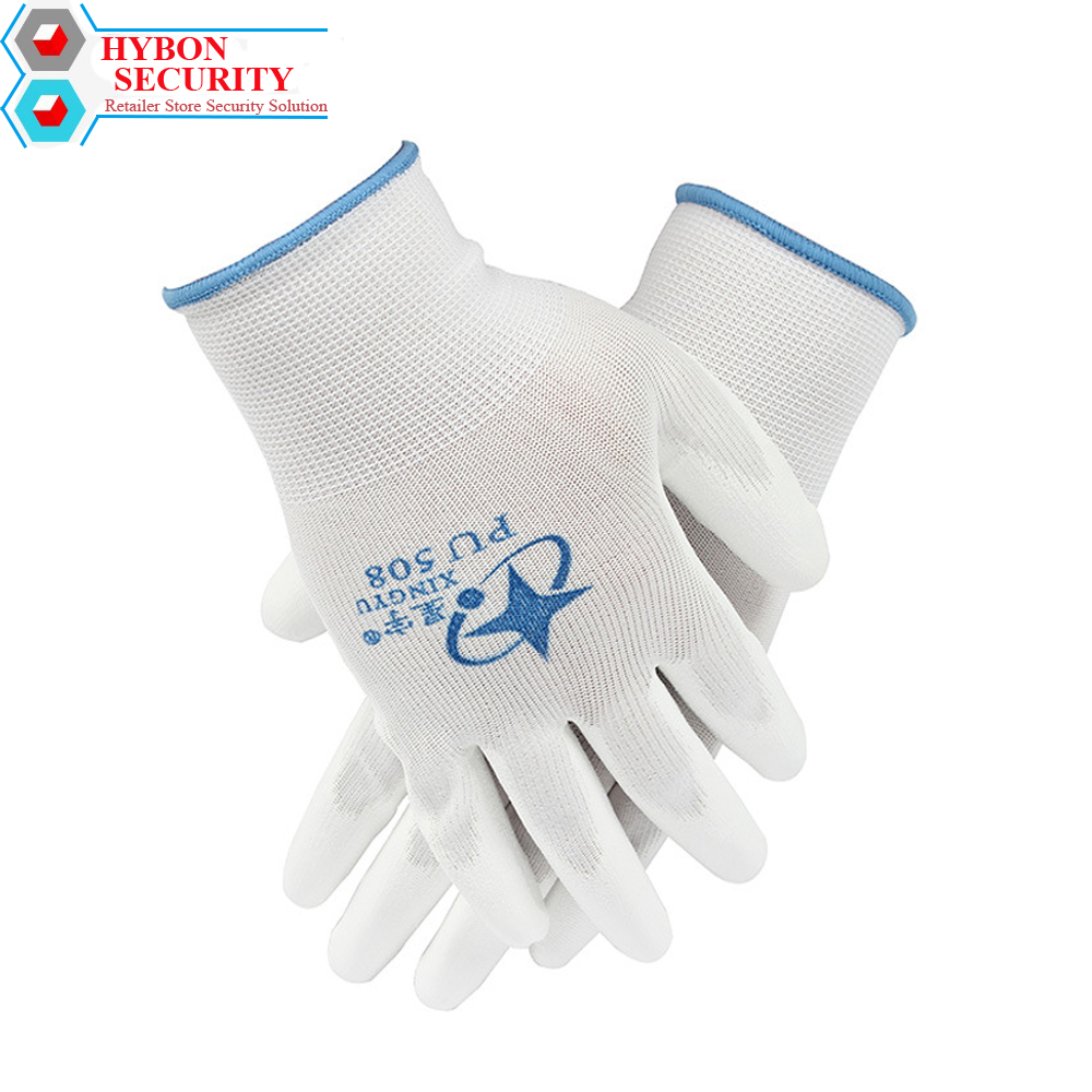 HYBON 1Pair Defensa Personal Anti-cut Gloves Safety Cut Proof Stab Resistant Wire Metal Mesh Butcher Cut-Resistant Safety Gloves