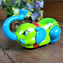 Electronic Pets Musical Elephant Toys Can Sing Walk Interactive Electric Sound Pets Animals Electronic Toys for Kids Gifts 1PCS