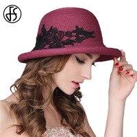 FS כובע קיץ כובע עבור הנשים Visor כובעי שמש קש נסיעות UV כובע כובעי החוף טבעי עלה חיל הים